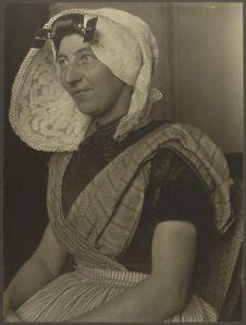 Dutch Immigrant at Ellis Island