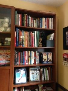 Cindy Thomson's baseball library.