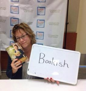 Cindy Thomson at Books By The Banks in Cincinnati