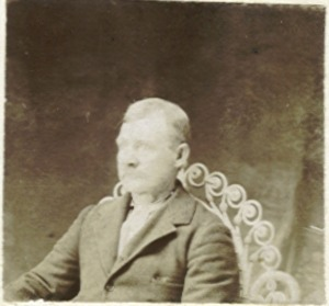 Great great grandfather of author Cindy Thomson